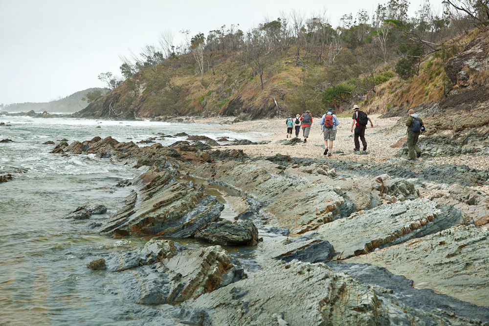 The Yuraygir Coastal Walk is a spectacular 4-day walk.