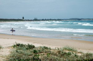 The beautiful beach at Wooli on the Clarence Coast, Northern NSW