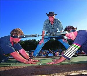 National Goanna Pulling Championships Wooli, NSW Australia
