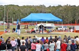 Goanna Pulling Championships, Wooli NSW