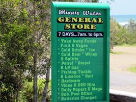 Minnie Water General Store has takeaway food