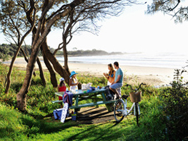 Picnic at Wooli or Minnie Water, NSW North Coast