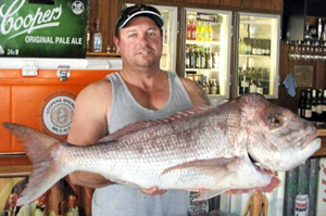 Wooli Snapper Fishing Competition Winner of 2012 Greg Wilson