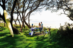 Minnie Water Beach - family friendly - patrolled in main holidays
