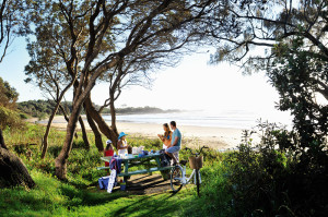 Minnie Water scenic beachfront walk and picnic spot