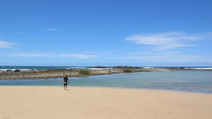 Diggers Camp Beach and rock pools