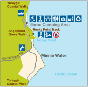 Short walks at Minnie Water, Yuraygir National Park