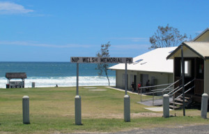 Welsh Memorial Park, Minnie Water Main Beach