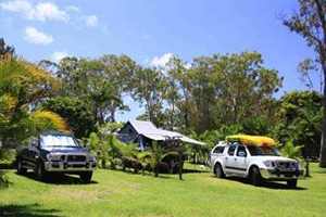 Large caravan, RV and camping sites at Big4 Solitary Islands Resort in Wooli NSW