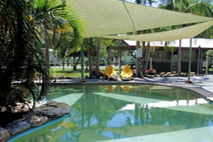 Swimming pool at Minnie Water Holiday Park