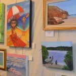 Wooli Art Show, wonderful mixed media artworks available for sale