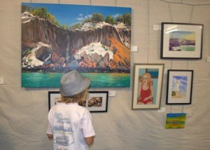 Wooli Art Show is on at the Wooli Hotel Motel on the Easter Weekend
