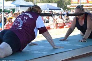 Goanna Pulling Championships Wooli Australia featured in UK Daily Mail
