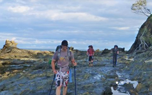 Wayfarer Expeditions guided hiking trips on the Yuraygir Coastal Walk